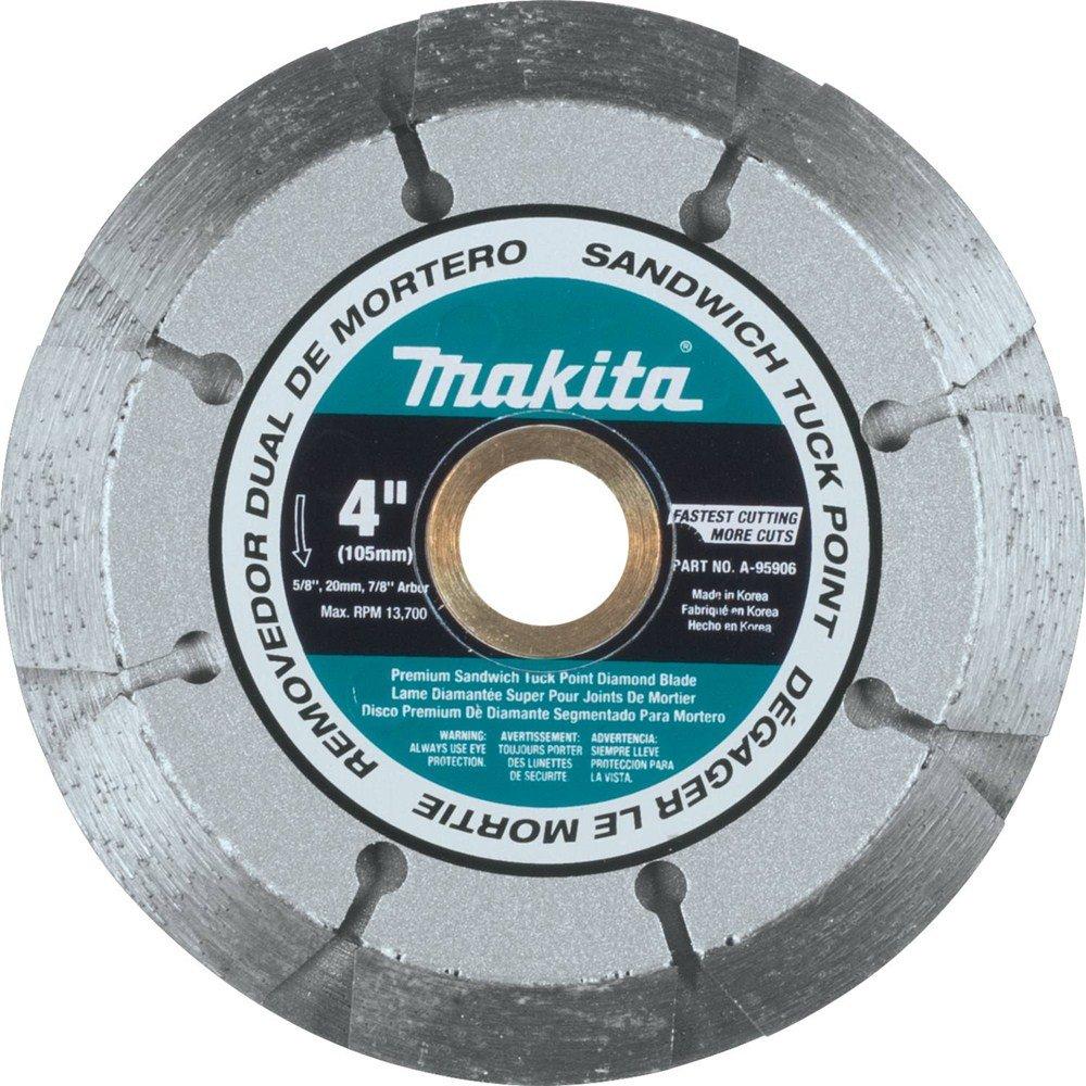Disco de Diamante MAKITA A-95906 punta doble de 4 pulg. para emparedado