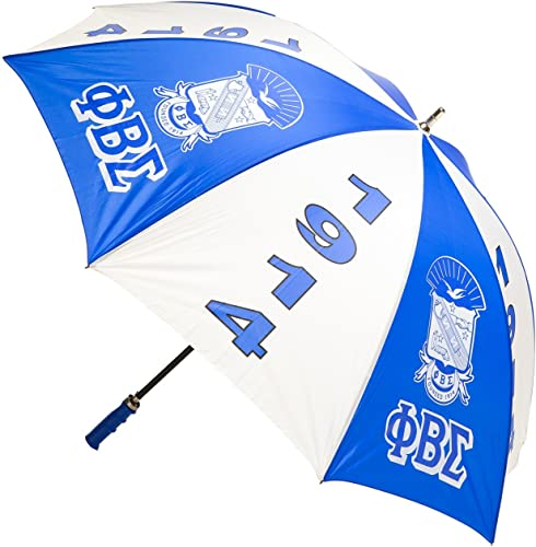 "Phi Beta Sigma Fraternity 30"" inches Jumbo Umbrella"
