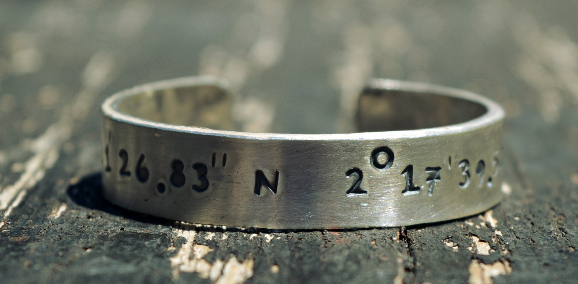 2mm thick custom coordinates bracelet,sterling silver bracelet, latitude, longitude, location bracelet, engraved bracelet, custom bracelet, quote,name,mothers day