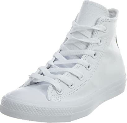 Star Leather High Top Sneaker