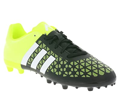 official photos 1d9af b0a29 adidas ACE 15.3 FGAG J Enfants Football Chaussures Noir B32842, Taille33.5
