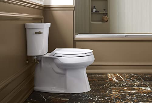 KOHLER K-4636-0 Cachet Elongated White Toilet Seat Review