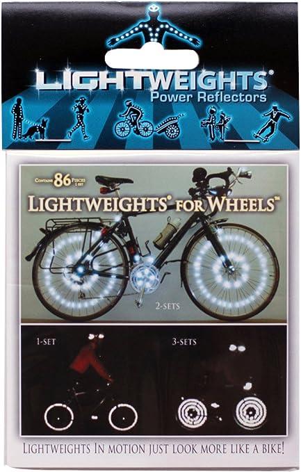 Bike /& Wheel Reflector Kit Front//Rear//Wheels NEW