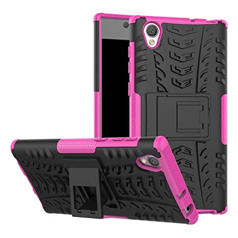 adorehouse Sony Xperia L1 Funda, Hybrid TPU y PC Bumper Back ...