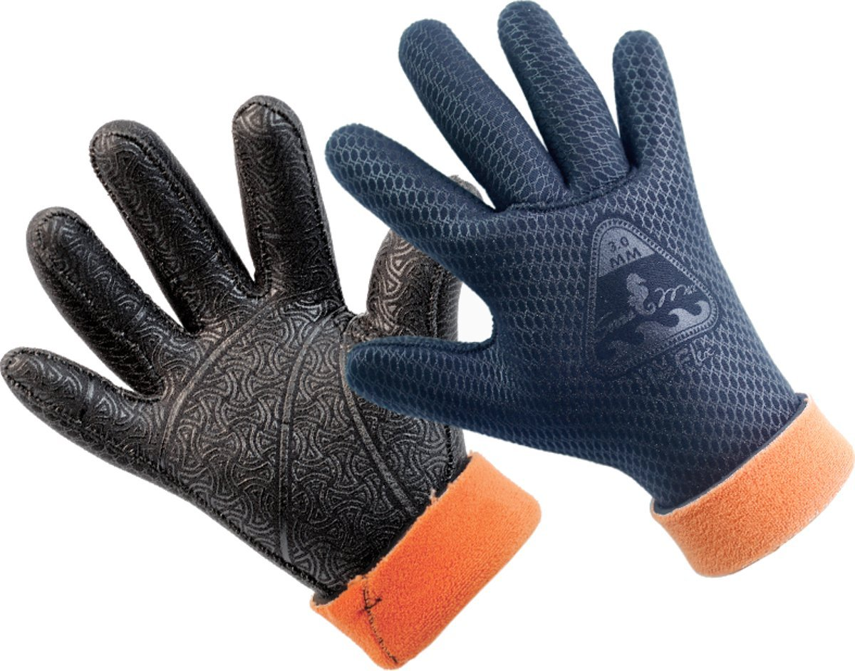 Scuba 5mm All MaxFlex Dive Gloves w//PU printing Scuba Diving Snorkeling Gloves