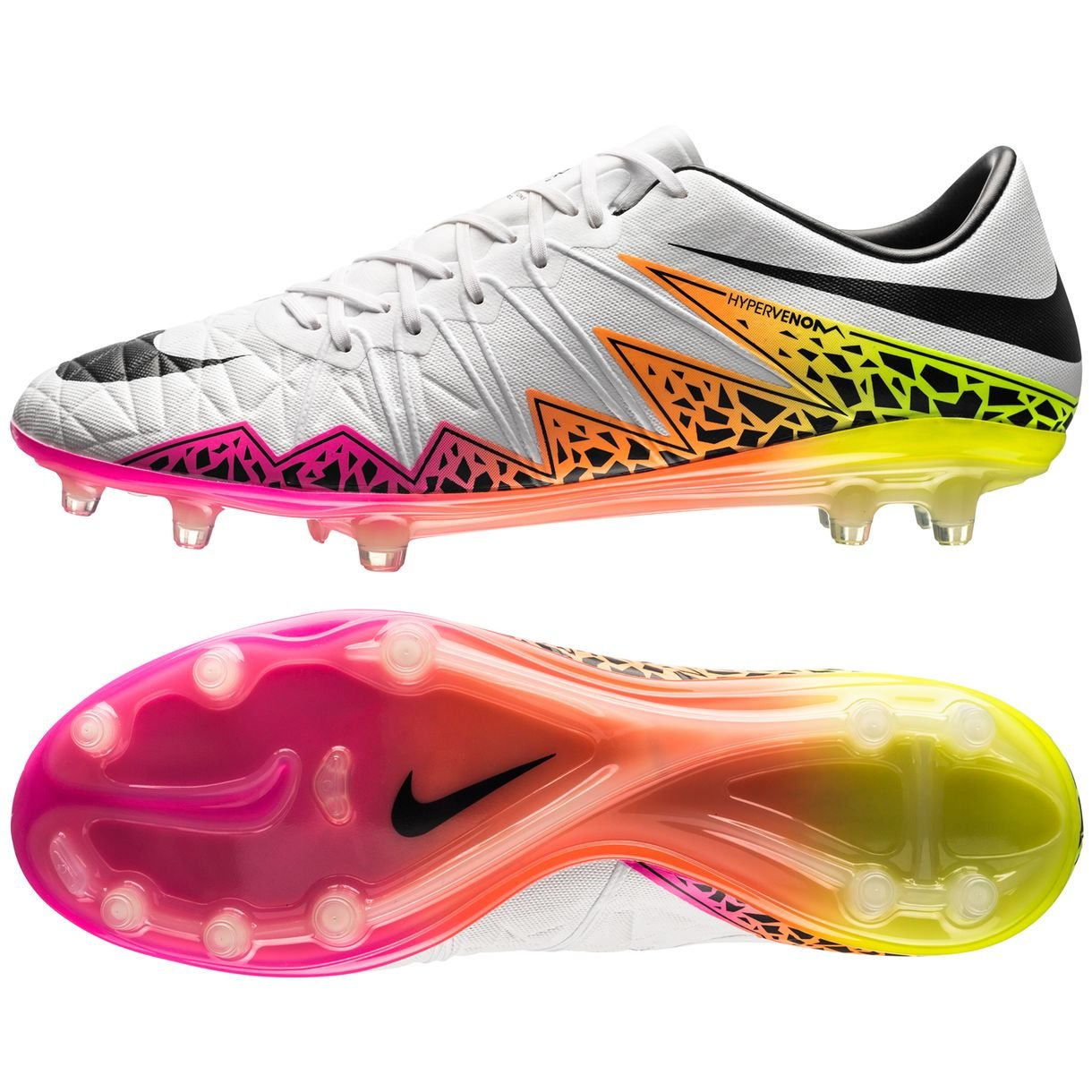 check out 5f3c4 b693b Amazon.com | Nike Hypervenom Phantom II 2 FG Size 4 Mens US ...