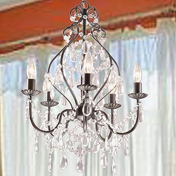jojospring bethany 5light candle chandelier