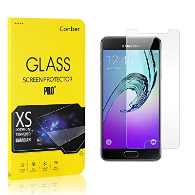 Conber (4 Pack) Screen Protector for Samsung Galaxy A3 2016, [Scratch-Resistant][Anti-Shatter][Case Friendly] Premium Tempered Glass Screen Protector for Samsung Galaxy A3 2016: Baby