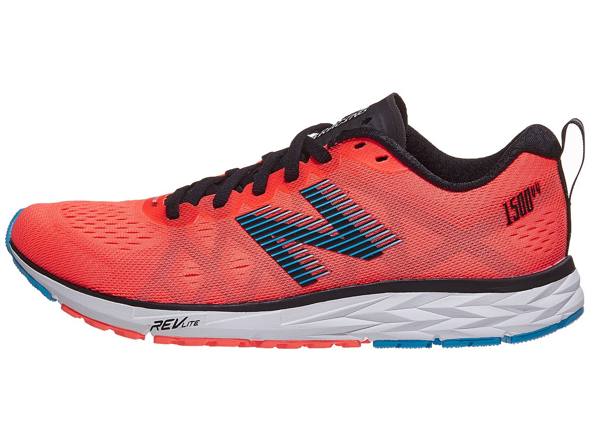 New Balance Women's 1500v4 Running Shoe B075R756G8 10 W US|Orange/Black-1