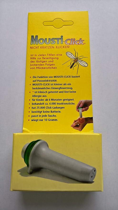 MOUSTICLICK gg. Contra las picaduras de insectos 30.000 clicks 1 ...
