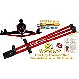 FREE SHIPPING E-Z Stretch Pro Steel Leg Stretcher Metal Leg Stretcher Martial Arts Leg Stretcher Split Machine Stretch Machine Leg Stretcher Leg Stretch Machine Leg Stretching Machine Karate Leg Stretcher Kung Fu Stretching MMA Leg Stretcher