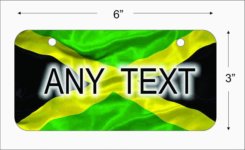 Diseño de bandera de Jamaica de la matrícula para Auto o ...