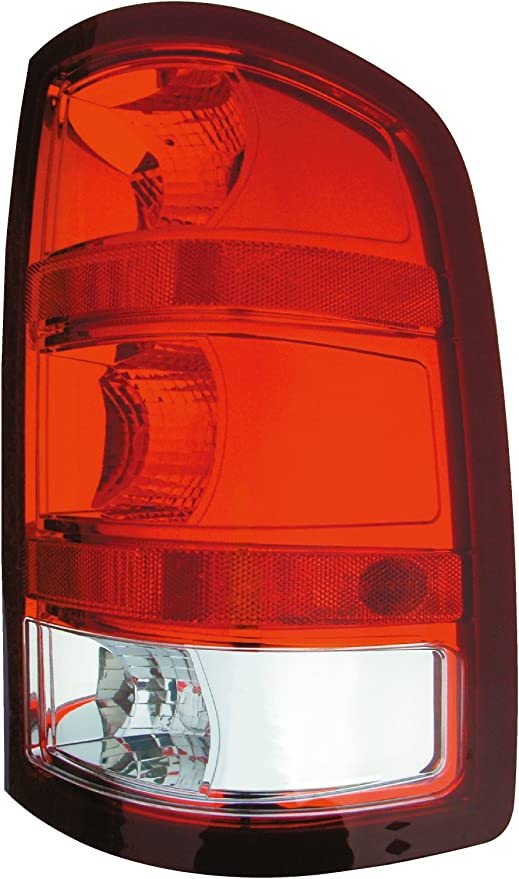 Red clear left side tail light rear light for MAZDA 2 DE 07-10 TYC