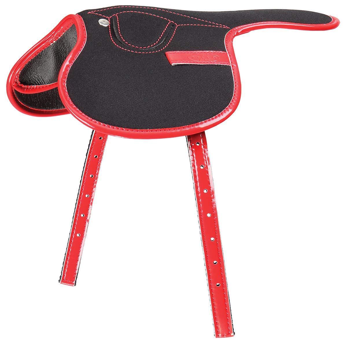 Black Red Zilco 185g Race Saddle (Black Red)