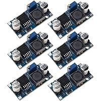 sicai fuente de alimentación Paso, LM2596Step-Down Módulo de fuente de alimentación 5V/12V/24V ajustable regulador de voltaje módulo 3A azul Pack de 6