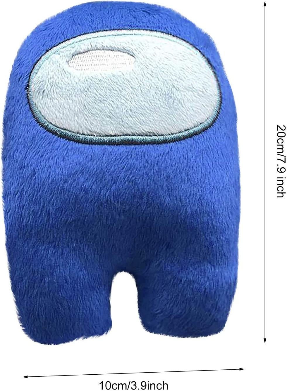 hgfdh 1pc Cute Plush Toy Among Us Doll Soft Stuffed Animal Doll for Kids Adults for Birthday Gift 10cm