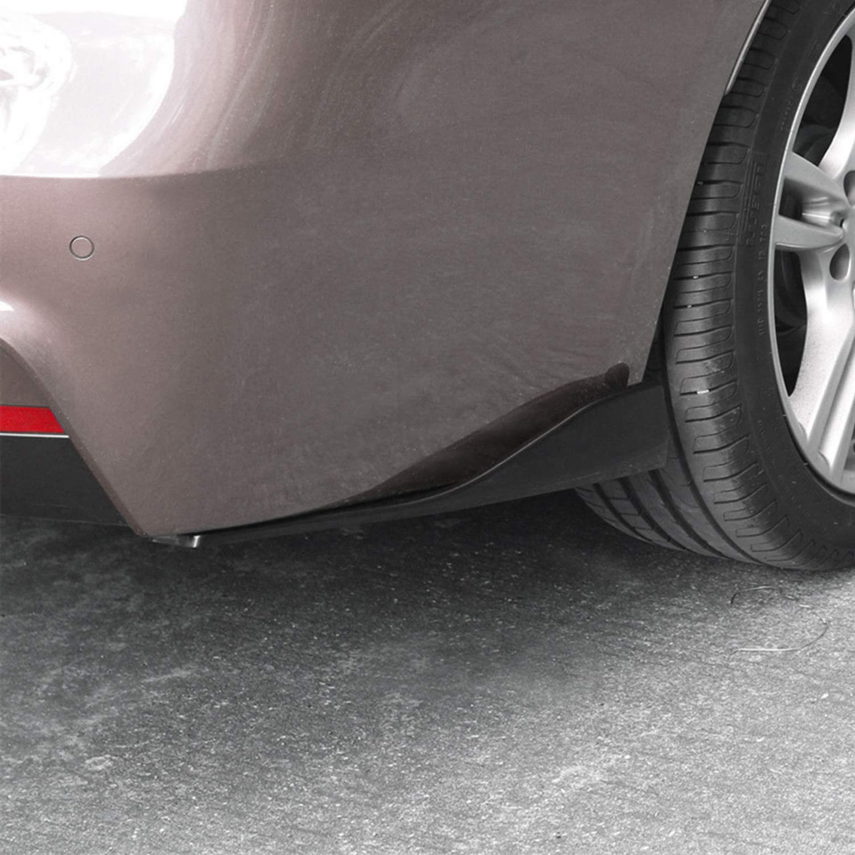 Rupse Heckspoiler auto 2 St/ück Hecksto/ßstangenspoiler Lippe Splitter Spoiler Protector AntiCrash Diffusor f/ür Hintere Lippe heckunterfahrschutz ausgedehnt 48CM Schwarz