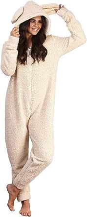 Undercover Lingerie Ltd Enfants Gar/çons Filles doux molleton Nouveaut/é animal Tous 3D en un Grenouill/ère avec capuchon