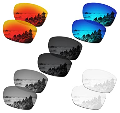 a8799e34963 Image Unavailable. Image not available for. Color  SmartVLT Set of 5 Men s  Replacement Lenses for Oakley ...