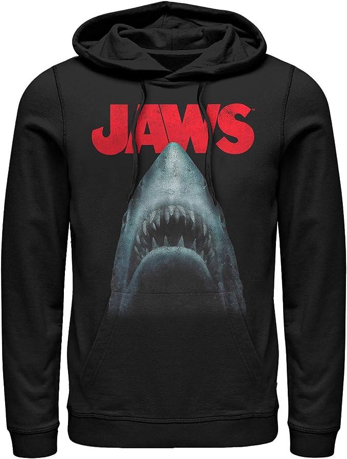 Amazon.com: Jaws - Sudadera con capucha para hombre, diseño ...