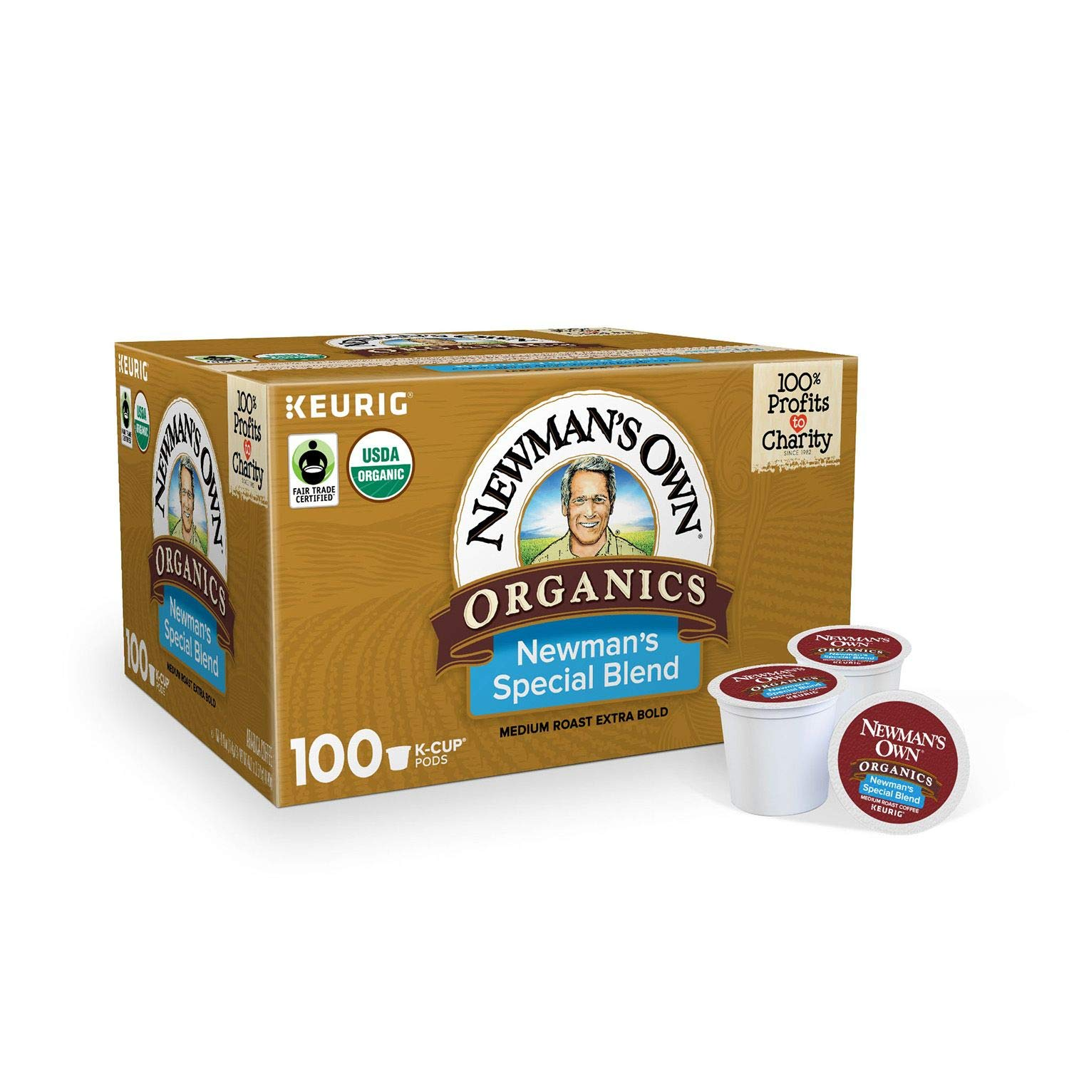 Newman's Own Organics Special Blend Extra Bold K-Cups, 100 ct.