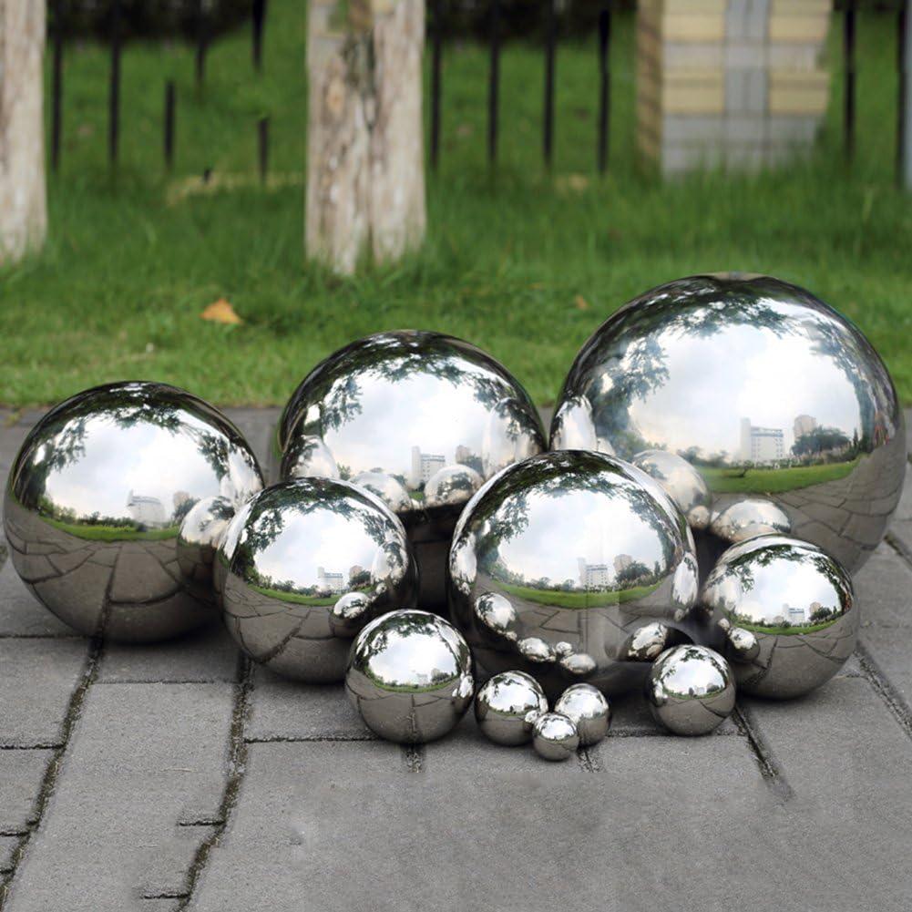 Sfere a specchio Fastar in acciaio inossidabile 304 sfere lisce per la decorazione di casa e giardino ornamento 30cm