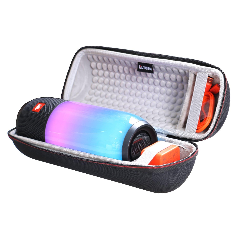 LTGEM EVA Hard Case for JBL Pulse 3 Wireless Bluetooth IPX7 Waterproof Speaker Travel Protective Carrying Storage Bag