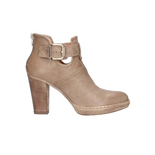 NERO GIARDINI Polacchini champagne 7140 scarpe donna mod. P717140D