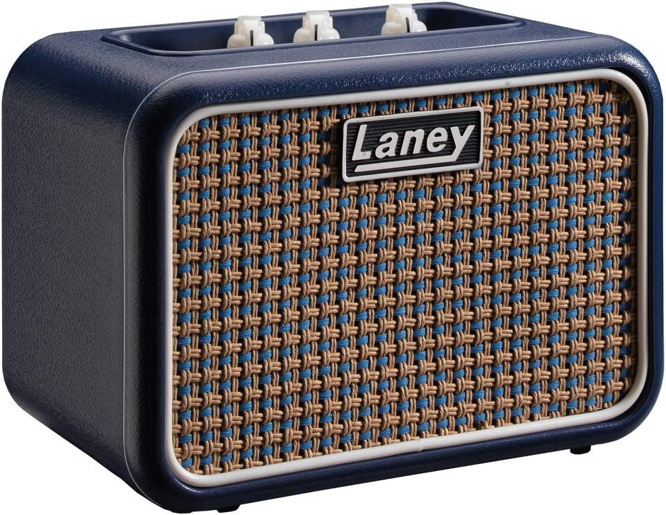 Laney Mini Series - Battery Powered Guitar Amplifier With Smartphone Interface - 3 W - Lionheart Edition, Azul, Mono