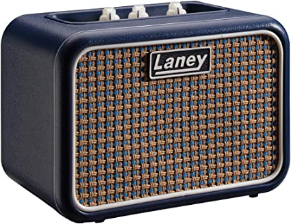 Laney Mini Series - Battery Powered Guitar Amplifier With Smartphone Interface - 3 W - Lionheart Edition, Azul, Mono: Amazon.es: Instrumentos musicales