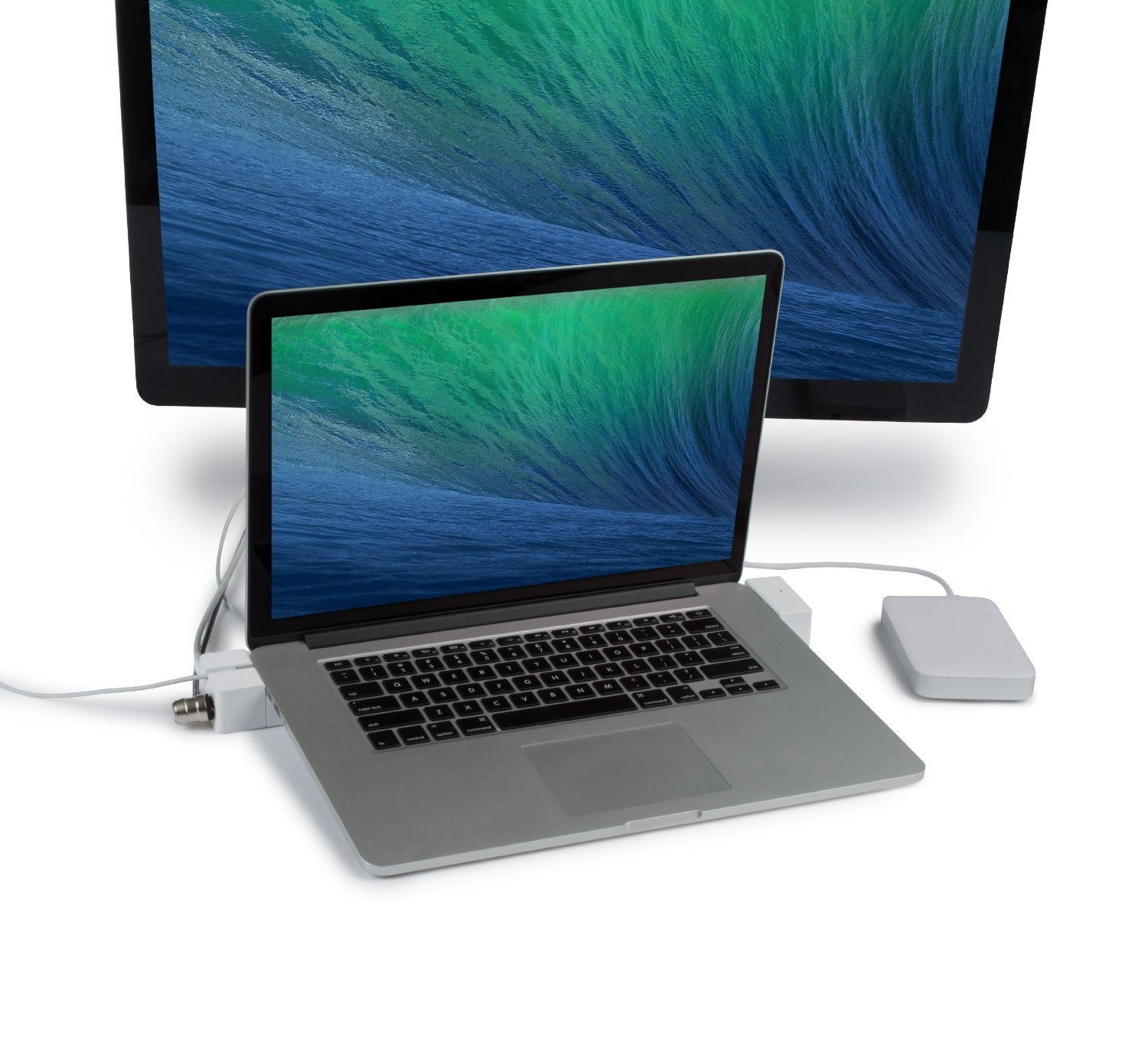 LandingZone DOCK 13'' Secure Docking Station for MacBook Pro with Retina Display Model A1425 and A1502 Released 2012 to 2015