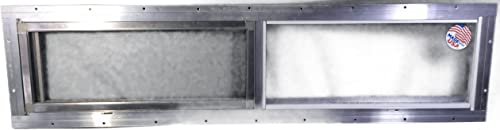 Mobile Home Window 36 X 8 Horizontal Slider. Obscured Glass Bathroom Window