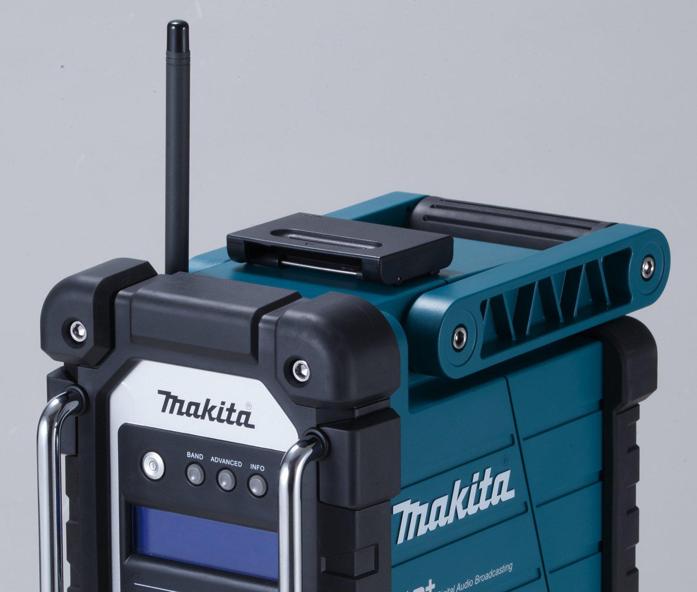 DMR105-110 Makita Radio del sitio de la bater/ía 7.2-18 V