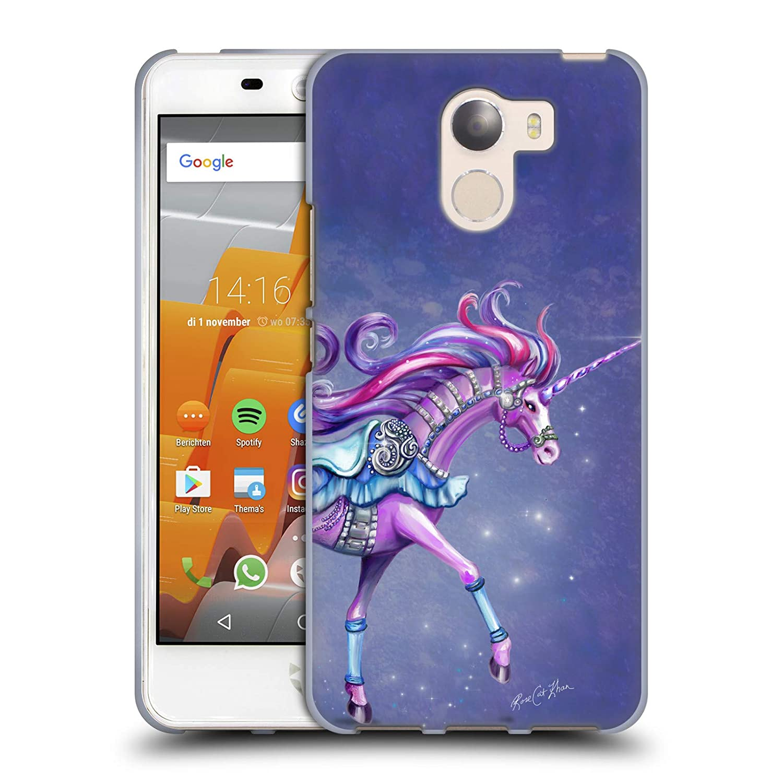 Amazon com: Official Rose Khan Purple Carousel Horse Unicorns Soft