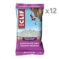 Deals on 12-Count CLIF BAR Energy Bar Chocolate Chip Peanut Crunch