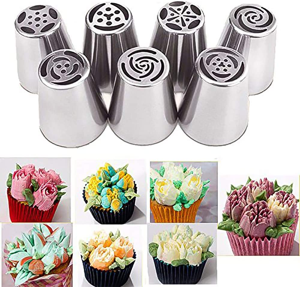 7 St/ück russische Tulpe LANGING Spritzt/üllen
