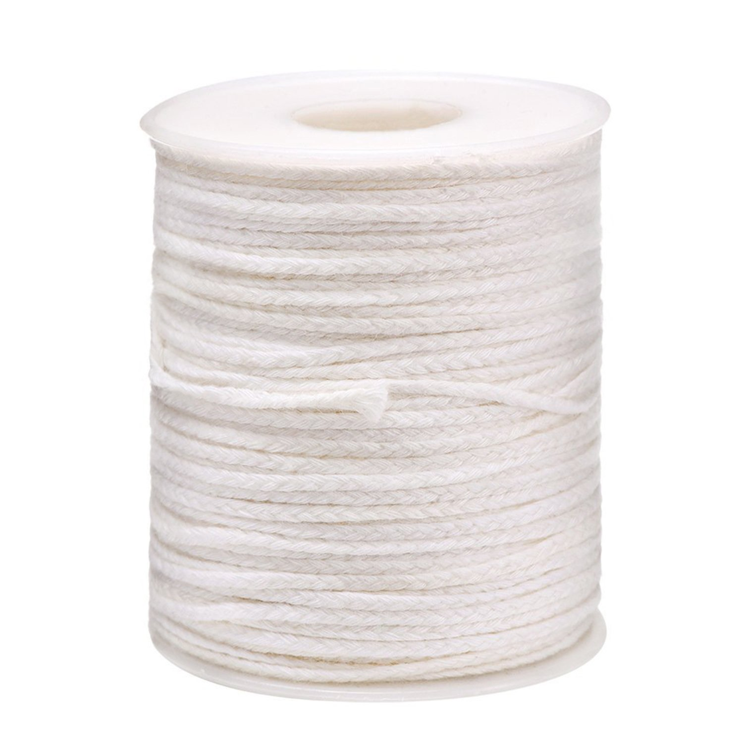 Outus 200 Feet 24 Ply Braided Wick Candle Wick Spool for Candle DIY and Candle Making by Outus