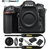 Nikon D500 20.9 MP CMOS DX Format Digital SLR Camera Body (1559B) with 4K Video - (Certified Refurbished)