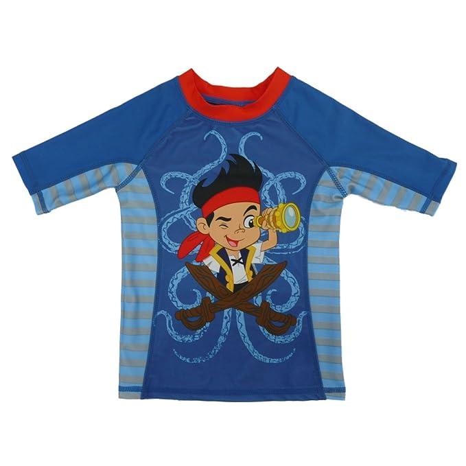 81495b78c74b9 Amazon.com: Disney Toddler & Boys Jake & The Never Land Pirates Rash ...
