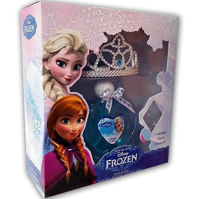 Disney Estuche Colonia Frozen + Tiara: Amazon.es: Juguetes y ...
