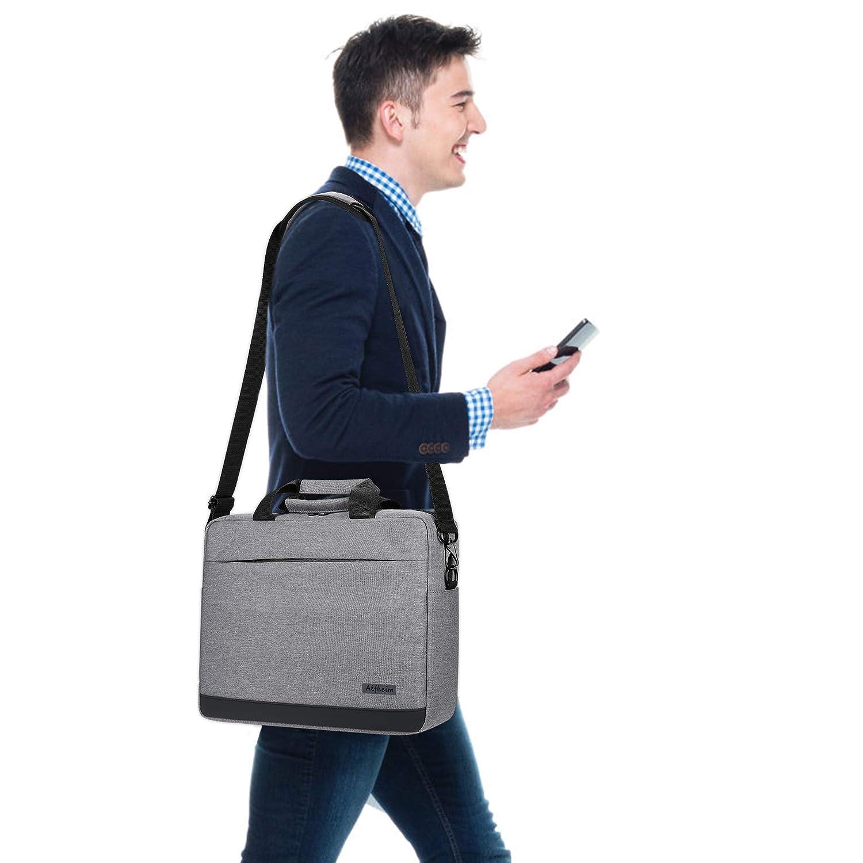 Alfheim Laptop Backpack for Men Women Fits 15.6 Inch Laptop,Briefcase Shoulder Messenger Bag,Waterproof/&Multipurpose/&Lightweight Notebook Bag for College School Work Commute Travel Red