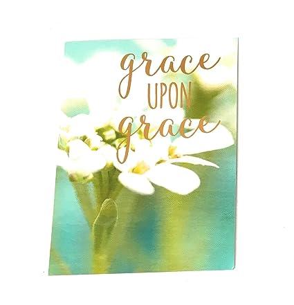 Amazon Leanin Tree Grace Upon Grace Birthday Card Kitchen