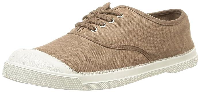Tennis, Damen Sneaker Grau Gris (Carbone 835) 39 Bensimon