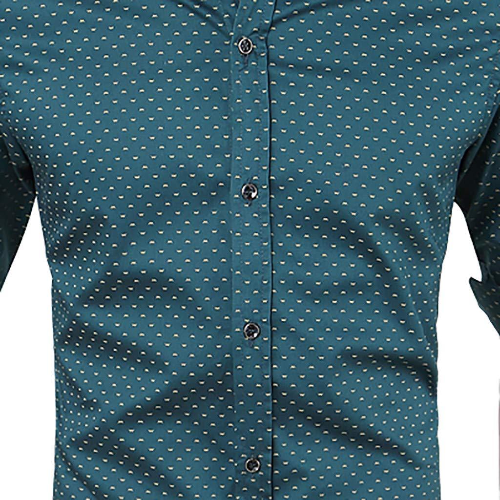 Mr.Macy Summer Mens Leisure Long Sleeve Mens Comfortable Leisure Shirt Tops