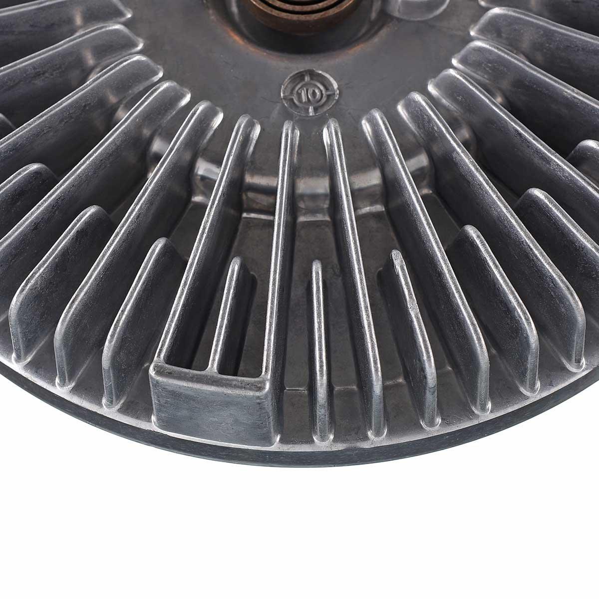 Fan Clutch for Chevrolet Silverado 2500 HD 3500 2001-2005 Express 2500 3500 2006-2009 GMC Savana Sierra 6.6L Turbo Diesel