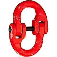 Indusco 54400012 Painted Grade 80 Drop Forged Alloy Steel Connecting Link, 1/2″ Trade, 12000 lbs Working Load Limit
