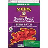 Annie's Homegrown Organic Berry Patch Bunny Fruit Snacks , 5-Count, 115 Gram