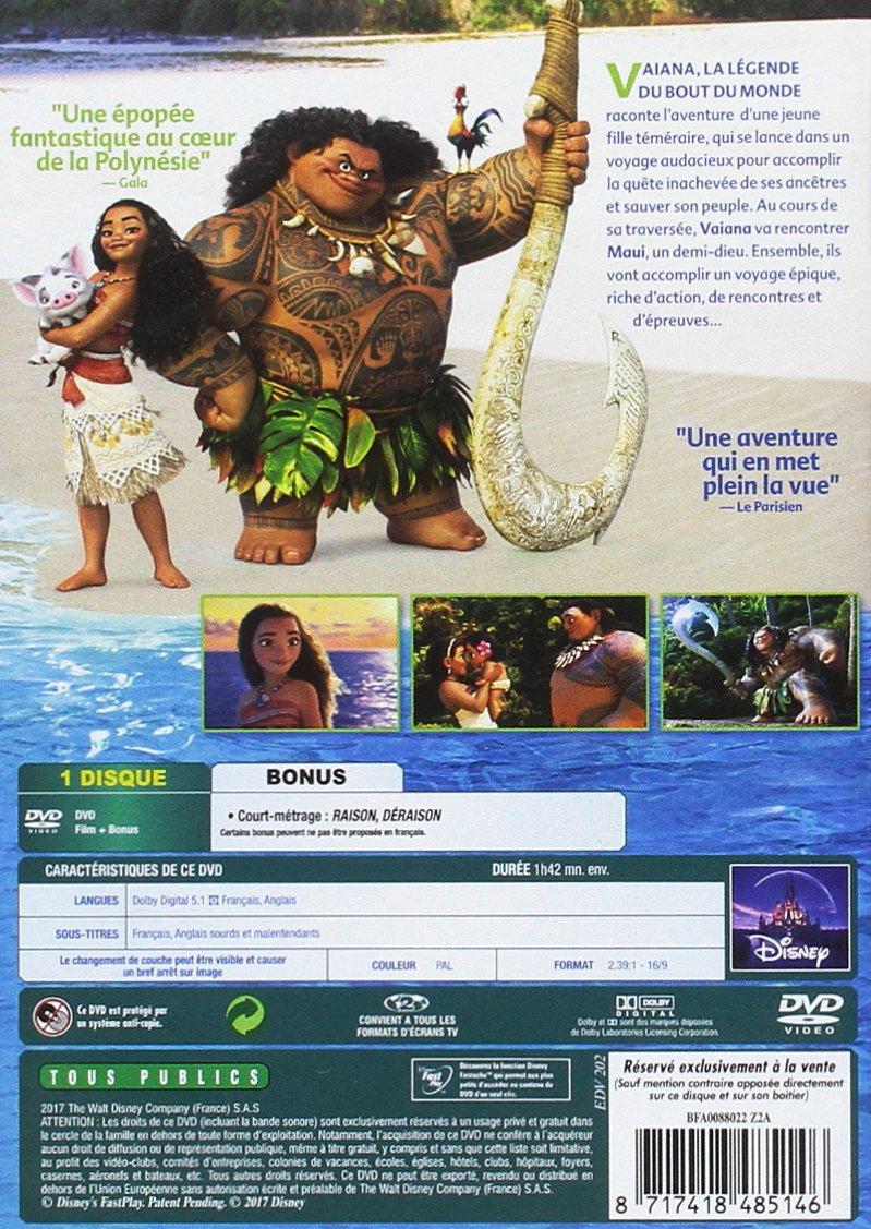 Vaiana, la légende du bout du monde [Italia] [DVD]: Amazon.es: Ron ...