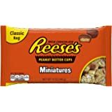 REESE'S Peanut Butter Cups Miniatures, 12 Ounce (Halloween Candy)