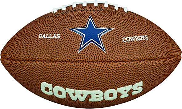 Wilson NFL Team Logo Dallas Cowboys Mini balón de fútbol ...